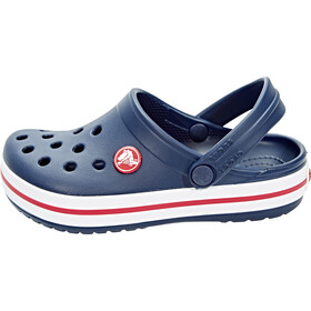Crocs Crocband Clogs Niños, navy/red